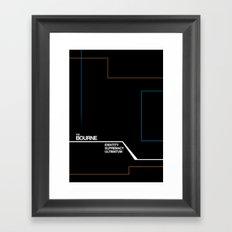 Bourne Framed Art Print