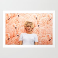 Royal Palms Shuffleboard Club Art Print