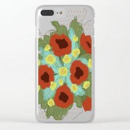 Bouquet #4 Clear iPhone Case