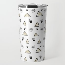 hazelnuts & triangles. Travel Mug