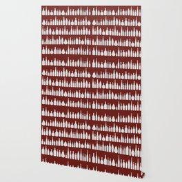 Bottles Red Wallpaper