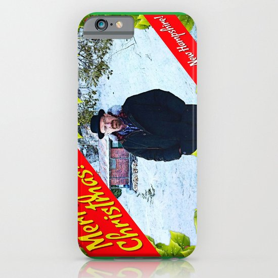 Walter White  |  Merry Christmas From New Hampshire!  |  Breaking Bad iPhone & iPod Case