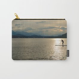 SUP - Stand Up Paddle Boarding at Sunset Carry-All Pouch