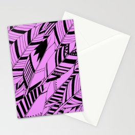 feather fury Stationery Cards