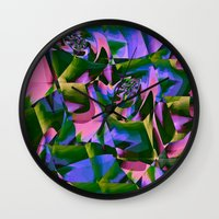 jungle Wall Clocks featuring Jungle by Truly Juel