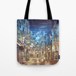 Breach to Diagon Alley Tote Bag