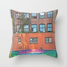 woodwards art Throw Pillow