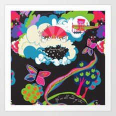 Garden of Earthly Delight Art Print
