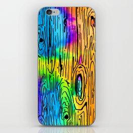 Technicolored Dream Plank iPhone Skin