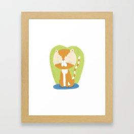 Tommy The Cat Framed Art Print