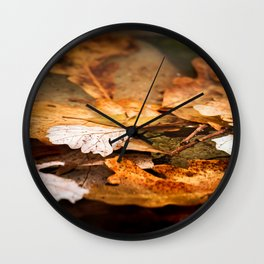 Fall is here Wall Clock