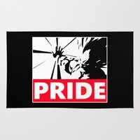 pride Area & Throw Rugs featuring Pride by TxzDesign
