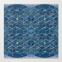 Crystal Geometry Canvas Print