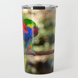 The honey parrot Travel Mug