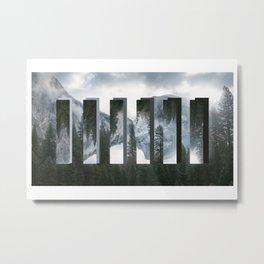 Am I Alone? Metal Print