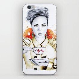 Tea Time with Cara iPhone Skin