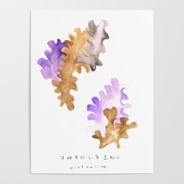 Matisse Inspired |Becoming Series || Unfolding Poster