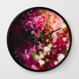 Beauty of Spring II Wall Clock