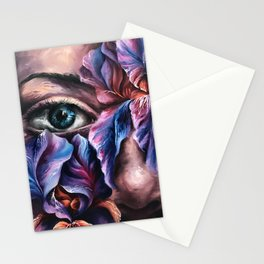 """""""Guarded"""" Painting Stationery Cards"""