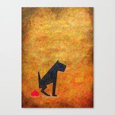 Shit of Love Canvas Print