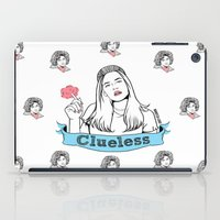 clueless iPad Cases featuring  Without a Clue  by Maritza Lugo