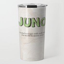 Juno - Alternative Movie Poster, classic movie, funny movie, minimal movie poster Travel Mug