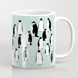 Penguins go with the floe Coffee Mug