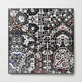 Pattern composition V6 Metal Print