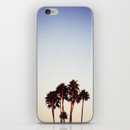 Sunset and Palms iPhone Skin