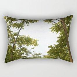 A Tropical Break into Nature Rectangular Pillow