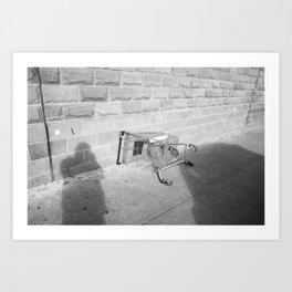 Surface Tension: Trolly, Glasgow Art Print