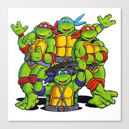 Teenage Mutant - Ninja Turtle Canvas Print