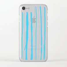 Vertical Living Electric Clear iPhone Case