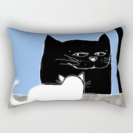 Frisky the Cat Rectangular Pillow