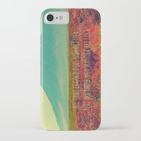 not all who wander iPhone & iPod Cases featuring Wander by Endless Summer