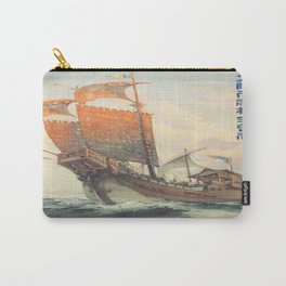 Vintage poster - Chinese Ship Carry-All Pouch