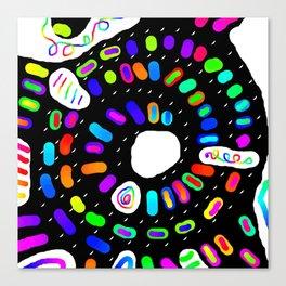 Circular 28 Canvas Print