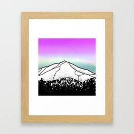 Whiteface mountain Framed Art Print