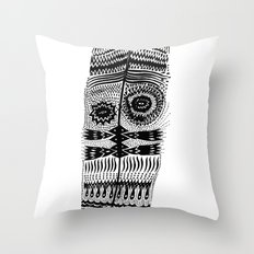 A long time ago I used to be an Indian Throw Pillow