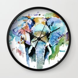 Animal painting Wall Clock
