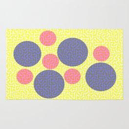 A-mazed circles Rug