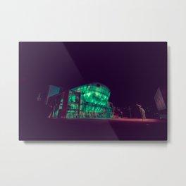 Festspielhaus II / Bladerunner Vibes / Austria Art Print Metal Print