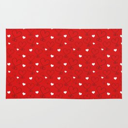 LOVE AND HEARTS Rug