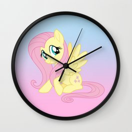 g4 my little pony Fluttershy Wall Clock