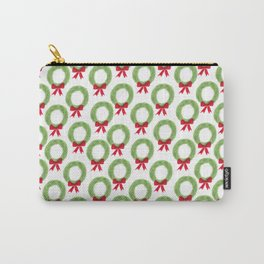 Wreath Pattern Carry-All Pouch