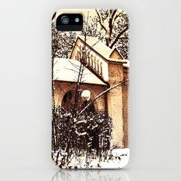 Concept Baden-Wurttemberg :Ölbergkapelle Laupheim iPhone Case