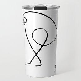 Pablo Picasso The Sparrow (Bird of Prey) T Shirt, Artwork Sketch Reproduction, tshirt, tee, jersey, Travel Mug