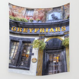 Greyfriars Bobby Pub edinburgh Wall Tapestry