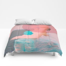 Swim Outside of Your Own Bubble, You're Going to Drown Comforters