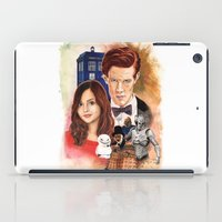 doctor who iPad Cases featuring Doctor Who by Richard Howard